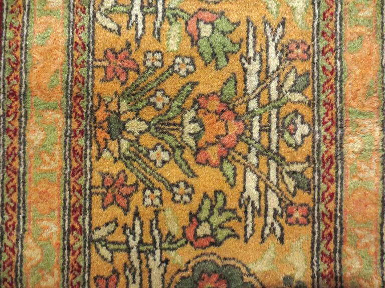 Antique Indian Agra Rug, circa 1880s 4