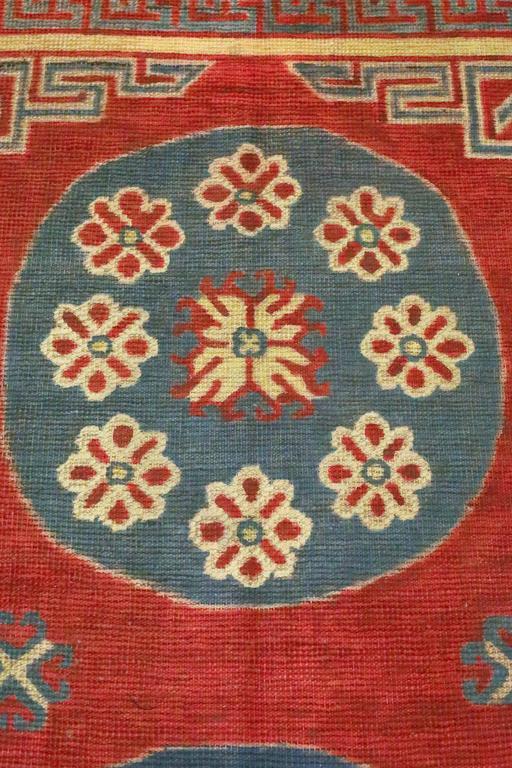 Central Asian Antique Samarkand Rug, circa 1900s For Sale