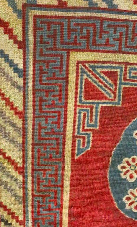 20th Century Antique Samarkand Rug, circa 1900s For Sale