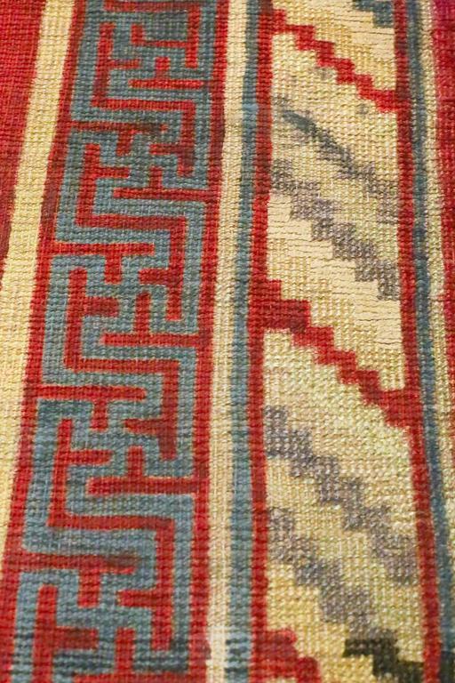 Antique Samarkand Rug, circa 1900s For Sale 1