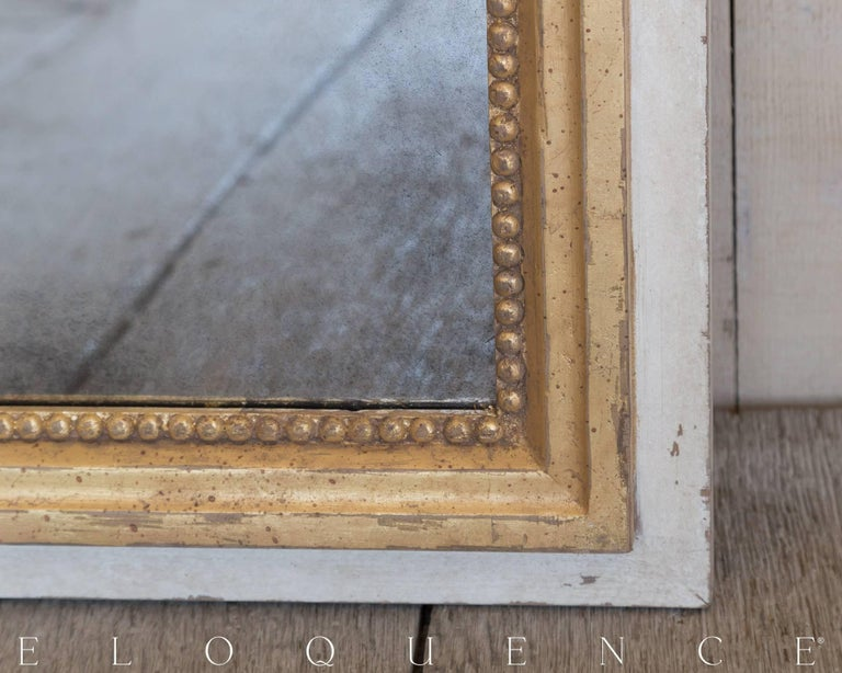 Eloquence® Grande Eugenie Panel Mirror in Toasted Almond and Gold 3