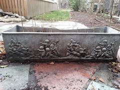 Rectangular lead planter