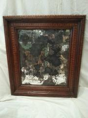 Fine 19th Century Marquetry Mirror