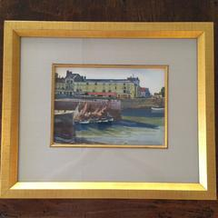 """Honfleur"" Watercolor Original painted by Ogden M. Pleissner"