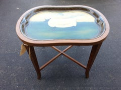 Paper Mache Tray Table