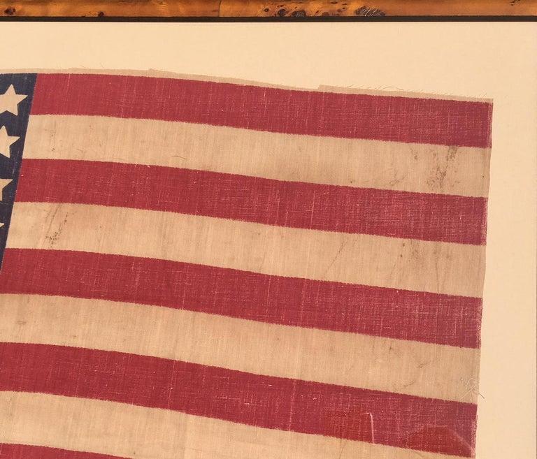 Federal American 42 Star Flag, circa 1890 For Sale