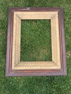 Wood Frame with Layered Gilt