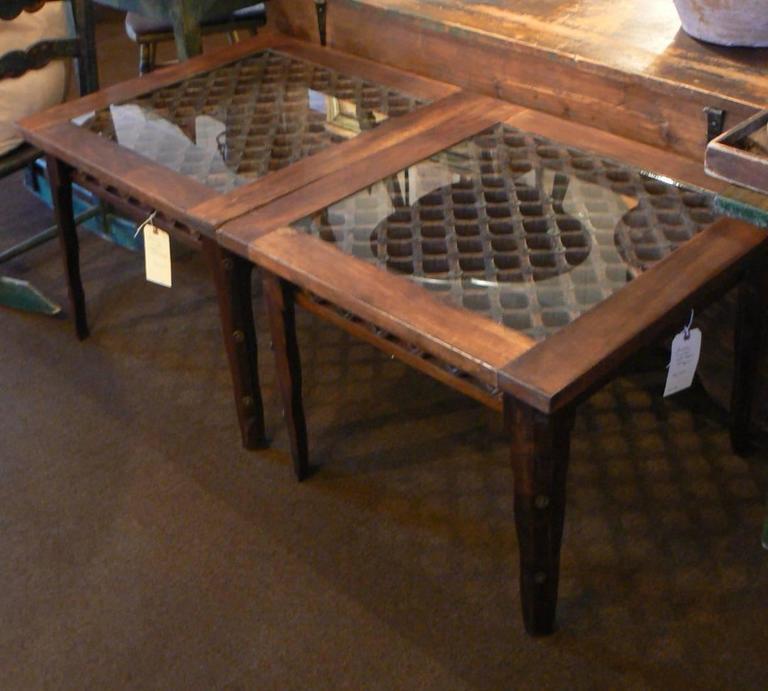 Adirondack Coffee Table Set: Craftsman-Made Adirondack Coffee Or Side Table At 1stdibs