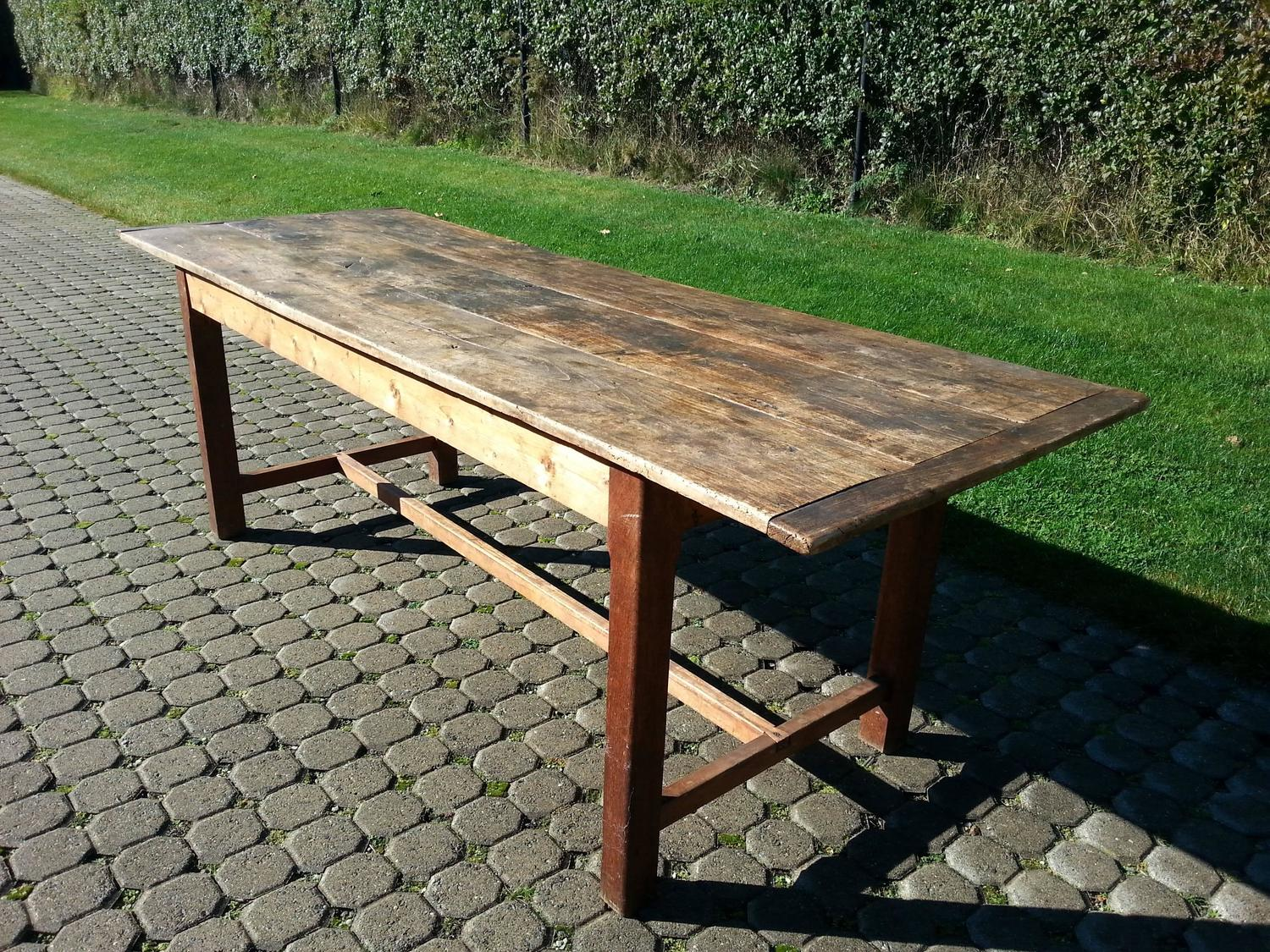 Old Wood Farm Table together with Farmhouse Dining Table For Sale ...