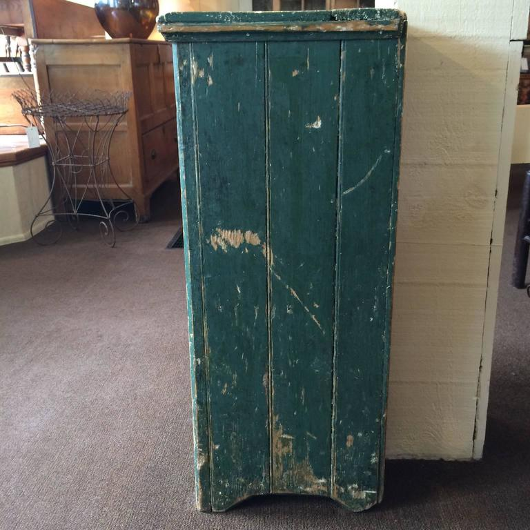 Wood Green Single Door Cupboard For Sale