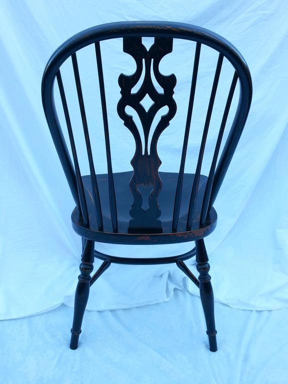 European Reproduction Splatback Side Chair For Sale