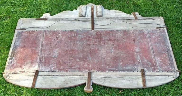 19th Century Hand-Painted Circus Rounding Board 8