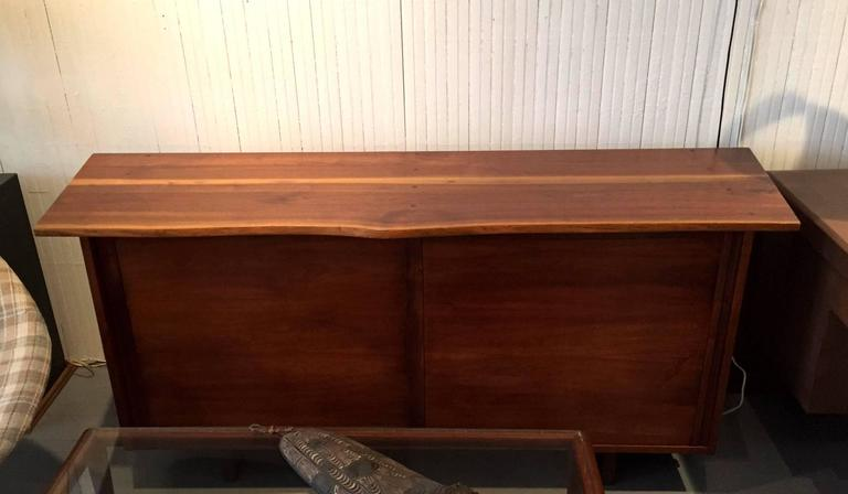 Walnut Sideboard with Top Shelf by George Nakashima For Sale 2