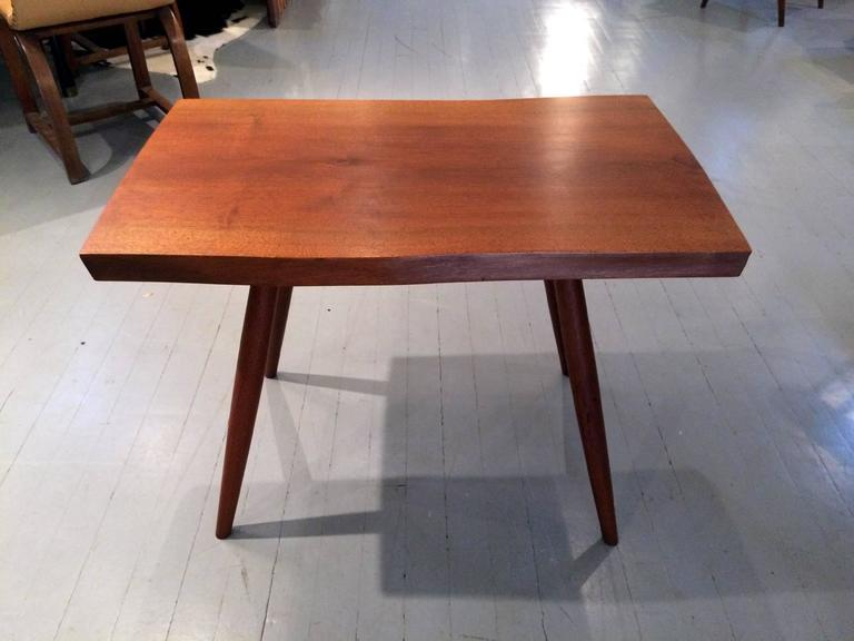 American Modern Early Walnut Table by George Nakashima For Sale