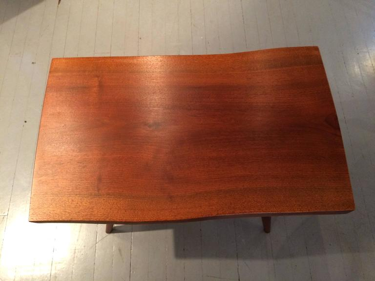 Early Walnut Table by George Nakashima For Sale 1