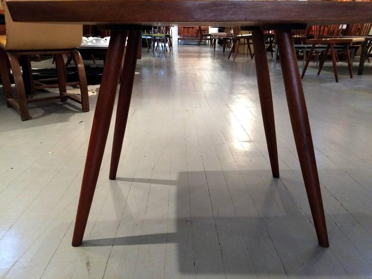 Early Walnut Table by George Nakashima For Sale 2