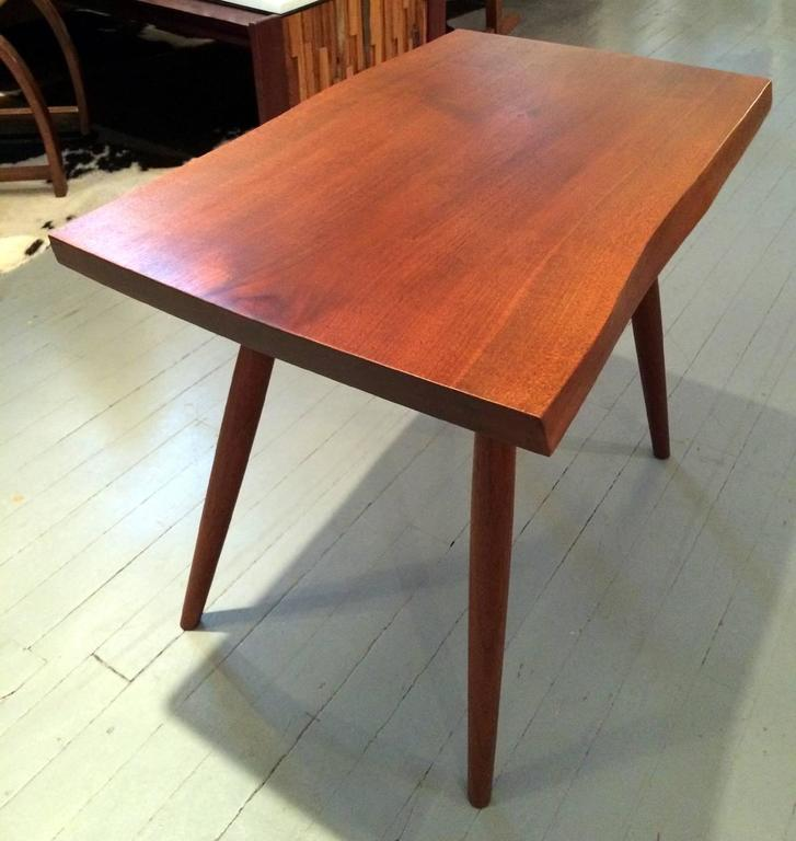 Early Walnut Table by George Nakashima In Good Condition For Sale In North Miami, FL