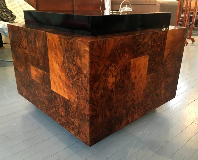 Burl Wood Patchwork Table By Paul Evans For Sale At 1stdibs