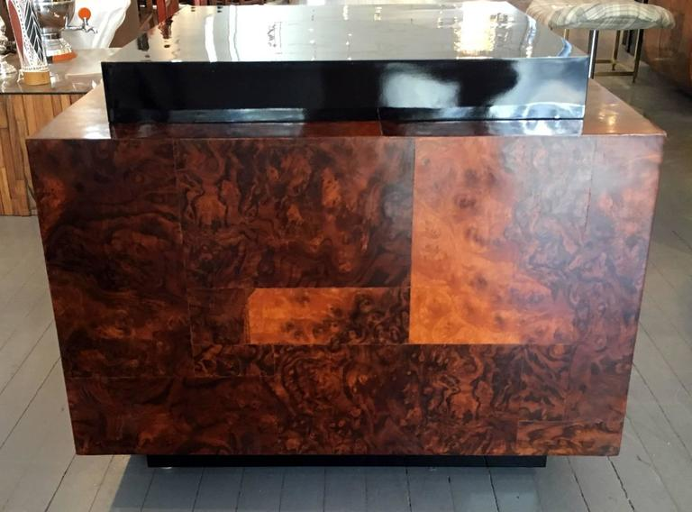 Late 20th Century Burl Wood Patchwork Table by Paul Evans For Sale