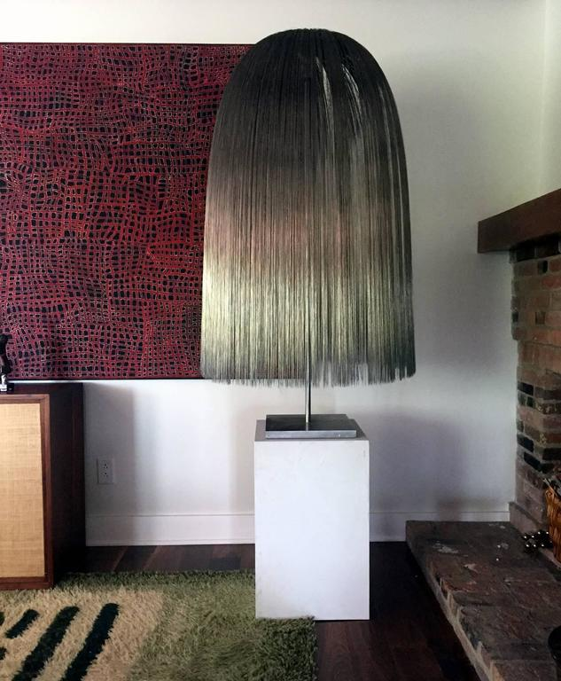 American Modern Large Willow Sculpture by Harry Bertoia For Sale