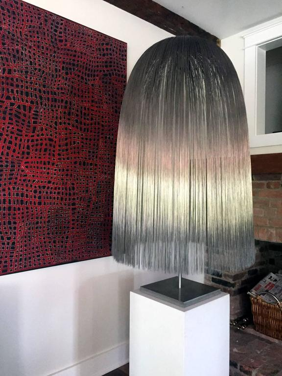 American Large Willow Sculpture by Harry Bertoia For Sale