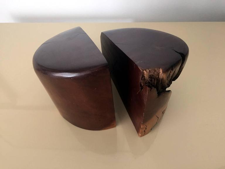 Mexican Pair of Cocobolo Bookends by Don Shoemaker For Sale