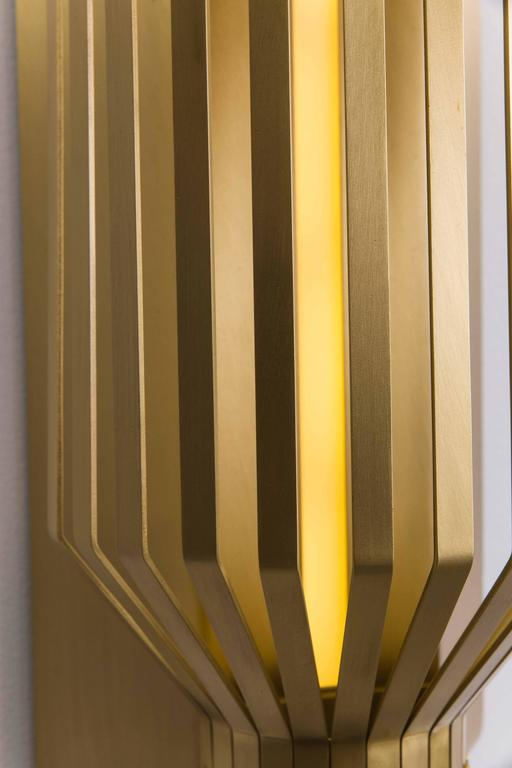 Wall Lamps Uae : Nader Gammas, Slim Sconce, UAE, 2017 For Sale at 1stdibs