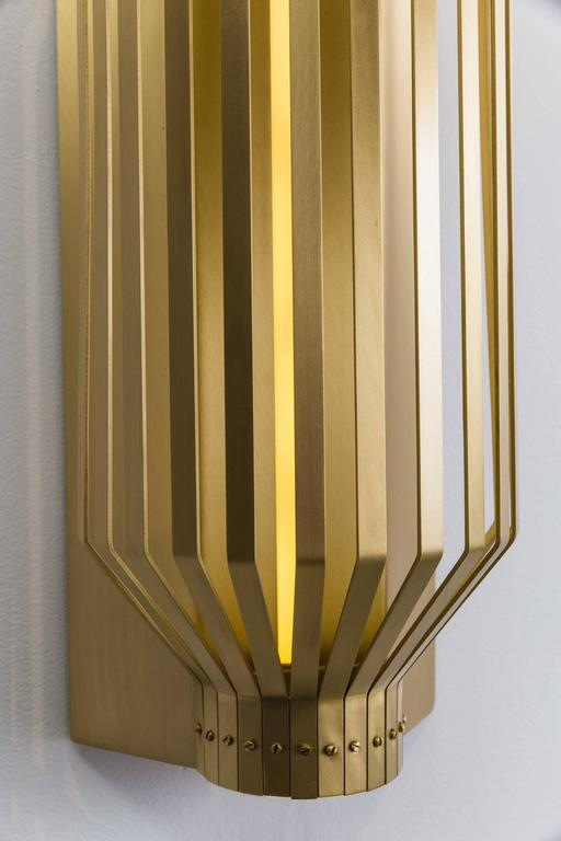 Nader Gammas, Slim Sconce, UAE, 2017 For Sale at 1stdibs