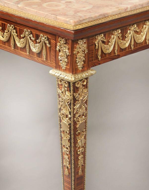 Belle Époque Late 19th Century Gilt Bronze Occasional Table For Sale