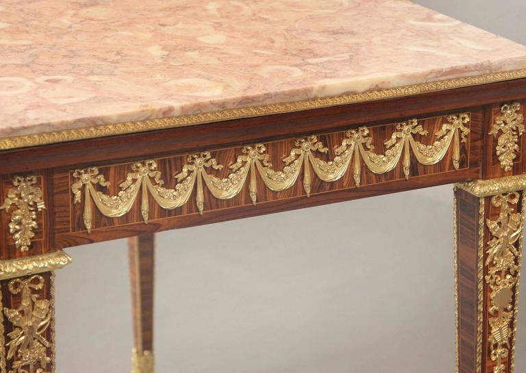 French Late 19th Century Gilt Bronze Occasional Table For Sale