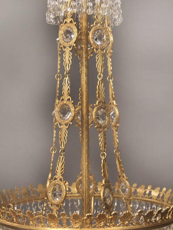 Großer und Wunderschöner Russischer Empirestil Kronleuchter, Spätes 19. Jahrhundert 5