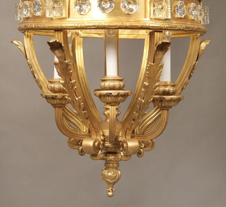 Monumental Late 19th Century Gilt Bronze and