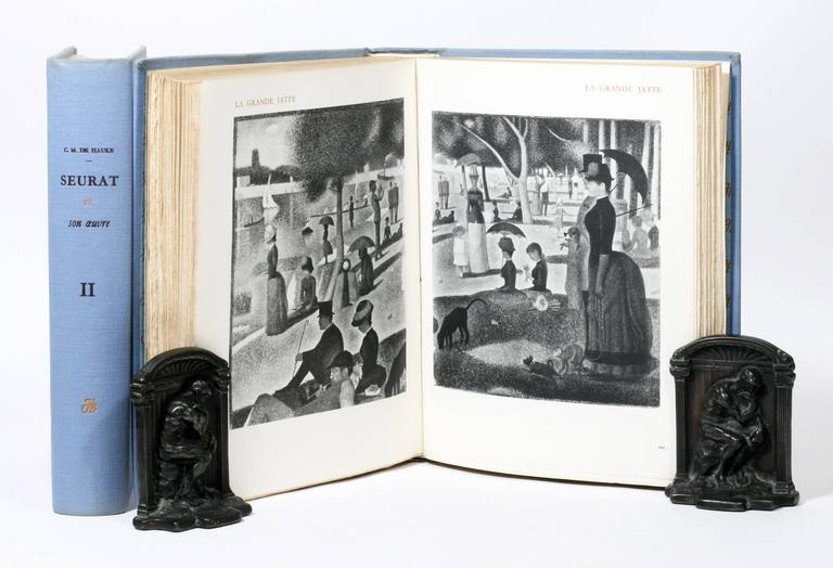 French Georges Seurat Catalog Raisonne, One of Only 50 Copies For Sale
