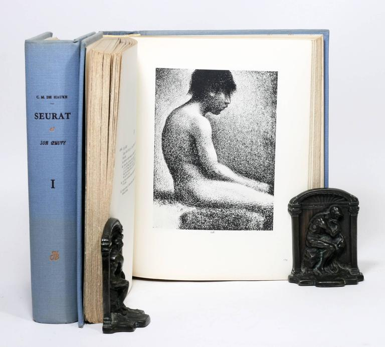 19th Century Georges Seurat Catalog Raisonne, One of Only 50 Copies For Sale