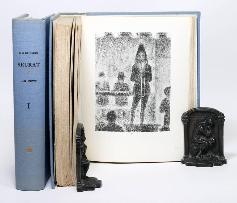 Paper Georges Seurat Catalog Raisonne, One of Only 50 Copies For Sale
