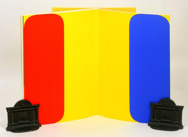 French Signed Limited First Edition of Derrière Le Miroir No. 149: Ellsworth Kelly For Sale