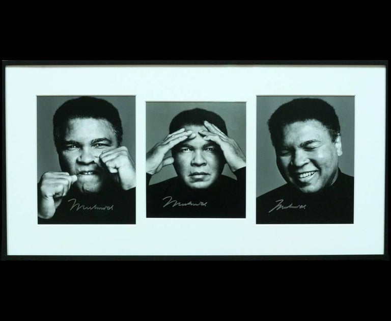 Iconic Photographs of Muhammad Ali, the Only Set Signed by Ali For Sale 2
