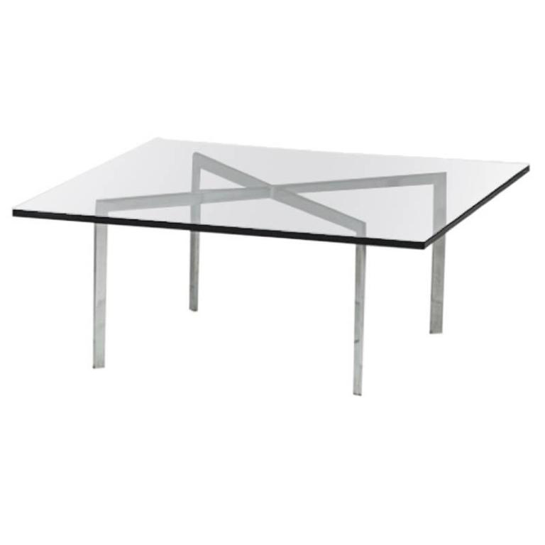 ludwig mies van der rohe barcelona table at 1stdibs. Black Bedroom Furniture Sets. Home Design Ideas
