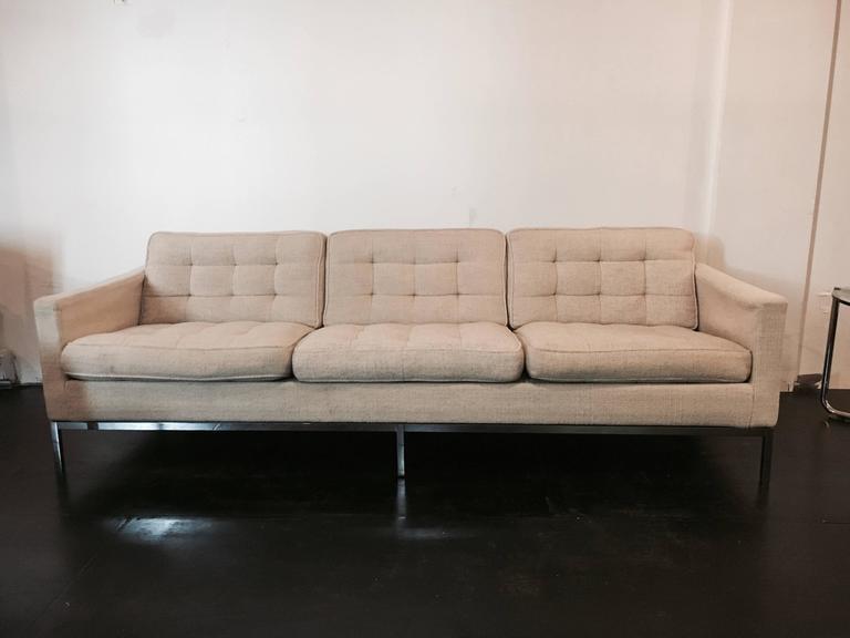 Florence Knoll Sofa for Knoll Associates, 1955 2