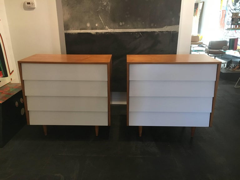 Florence Knoll Pair of Dressers or Chests, 1950 2
