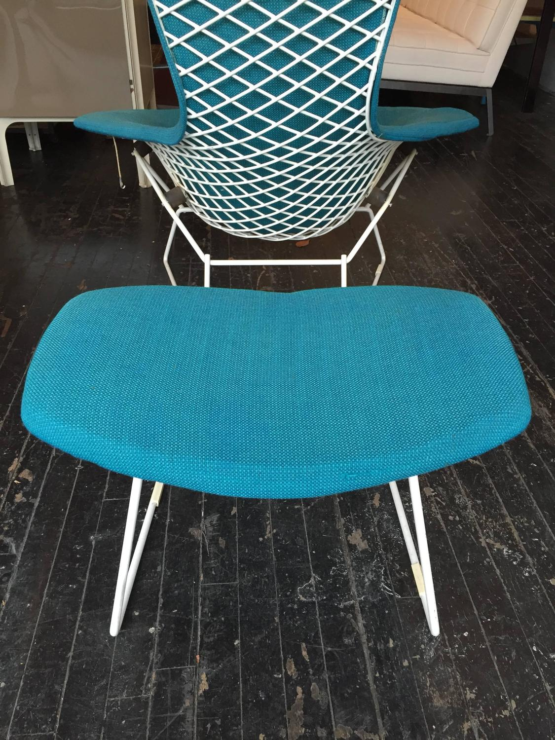 harry bertoia high back diamond bird chair knoll 1952 at 1stdibs. Black Bedroom Furniture Sets. Home Design Ideas