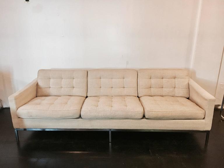Florence Knoll Sofa for Knoll Associates, 1955 3
