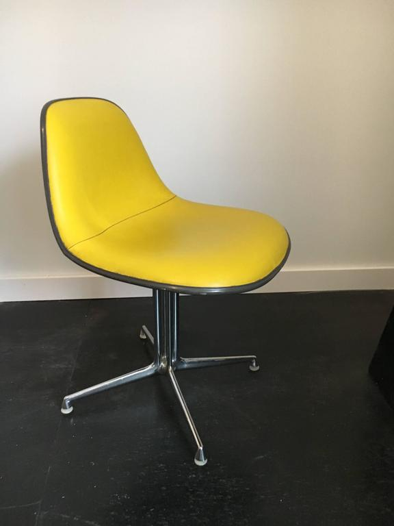 Mid-20th Century Set of Six La Fonda Chairs by Charles and Ray Eames Herman Miller For Sale