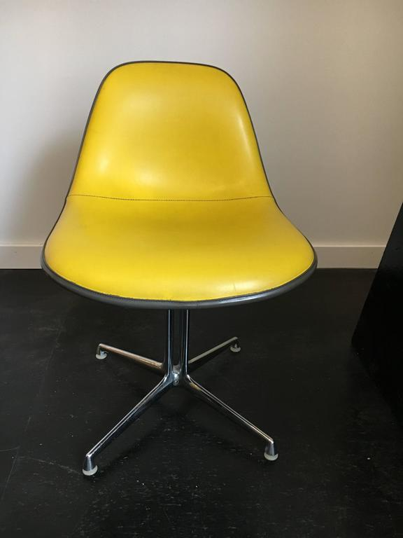 Set of Six La Fonda Chairs by Charles and Ray Eames Herman Miller In Good Condition For Sale In Brooklyn, NY