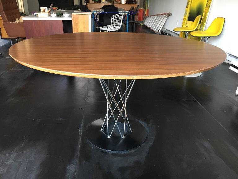 Isamu Noguchi Walnut Cyclone Dining Table Knoll 2