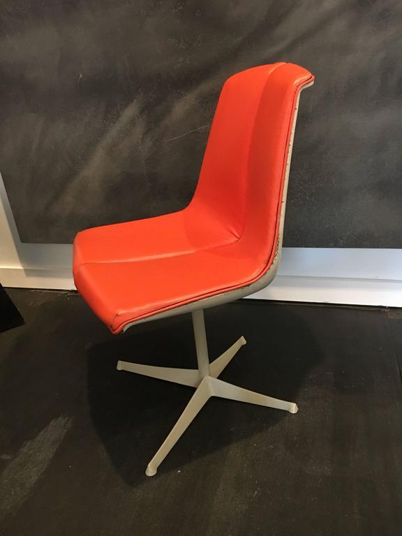 Set of Eight Richard Schultz Dining Chairs Knoll, 1961 7
