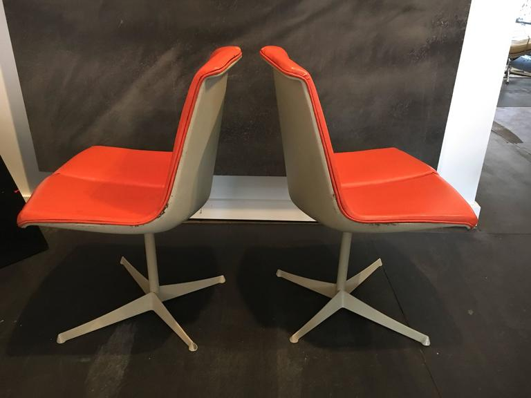 Set of Eight Richard Schultz Dining Chairs Knoll, 1961 5