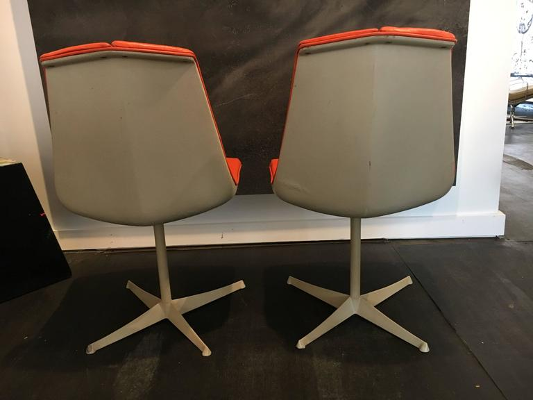 Set of Eight Richard Schultz Dining Chairs Knoll, 1961 9