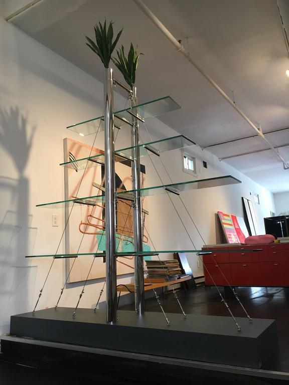 """Andréa Branzi """"Magnolia"""" Display Shelf Memphis Milano, 1985, Italy 2"""