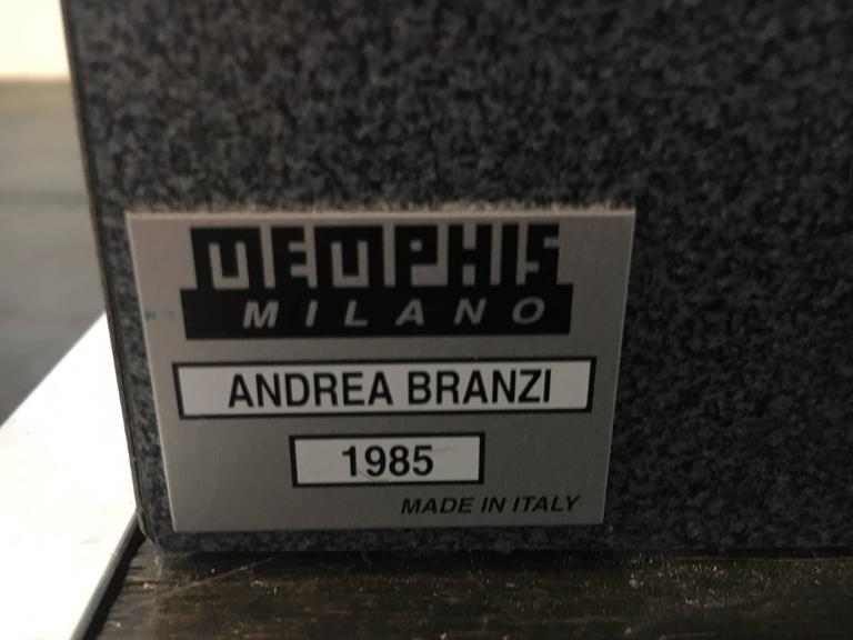 """Andréa Branzi """"Magnolia"""" Display Shelf Memphis Milano, 1985, Italy 10"""